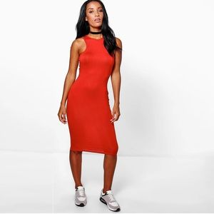 Express Sheath Bodycon Midi Dress
